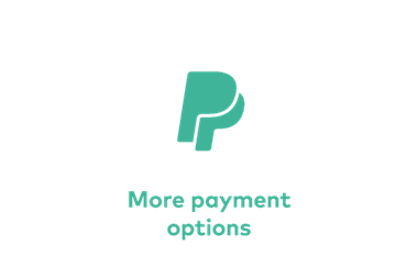 More Payment Options