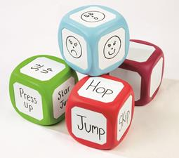 Whiteboard Dice