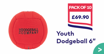 Youth Dodgeball 6 Inches Pack 10