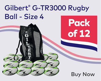 GIlbert Rugby Ball Pack of 12